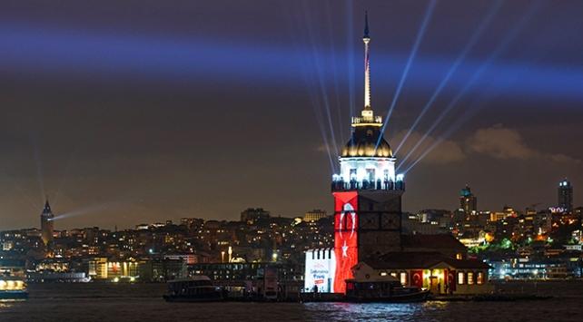 İstanbulda 29 Ekim Cumhuriyet Bayramı coşkuyla kutlandı