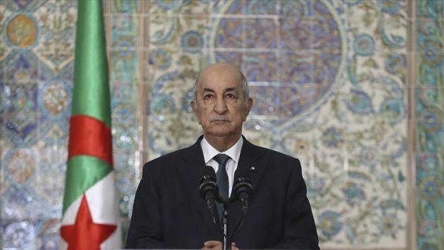 COVID-19 tedavisi gören Cezayir Cumhurbaşkanının durumu stabil