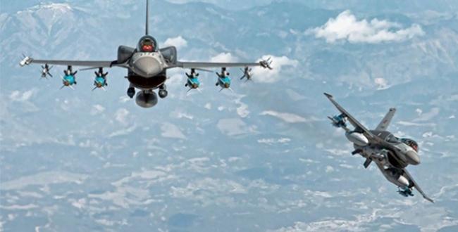Irakın kuzeyine hava harekatı: 8 terörist etkisiz hale getirildi
