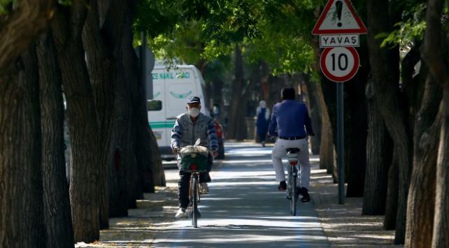 Bisiklet Konyada rağbet görüyor