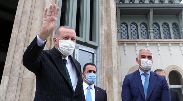 Erdoğan Taksim Camii ve AKM açılışı için tarih verdi