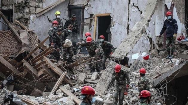 Azerbaycanda Ermenistanın saldırılarında 91 sivil öldü, 400 kişi yaralandı