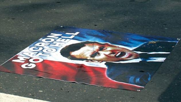 Güney Afrikalı Müslümanlar, Fransayı protesto etti
