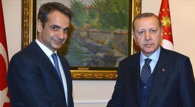 Miçotakisten Erdoğana geçmiş olsun telefonu