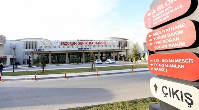 Erzurum Şehir Hastanesinden koronavirüsle mücadeleye büyük katkı