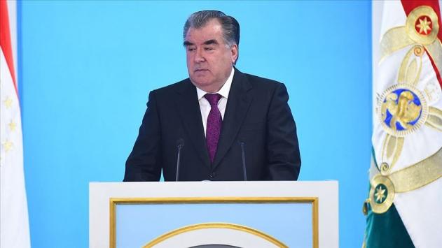 Tacikistan Cumhurbaşkanı Rahmandan Cumhurbaşkanı Erdoğana başsağlığı mesajı