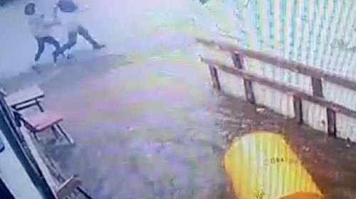 Tsunaminin geliş anı kamerada