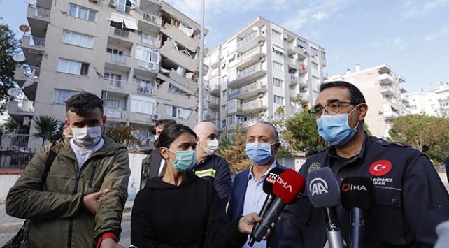 Bakan Dönmez: İzmirde hasarlı binalar dışında doğal gaz sağlanamayan binamız kalmadı