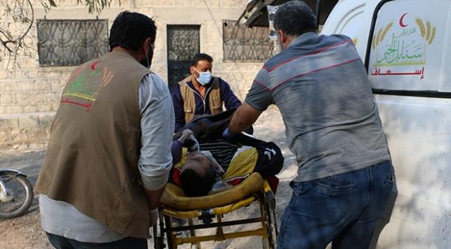 Esed rejimi İdlibde sivilleri hedef aldı: 1 ölü, 3 yaralı