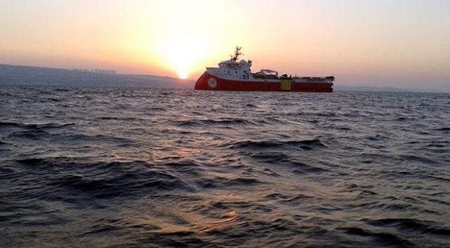 Barbaros Hayreddin Paşa gemisi 16 Şubata kadar Doğu Akdenizde