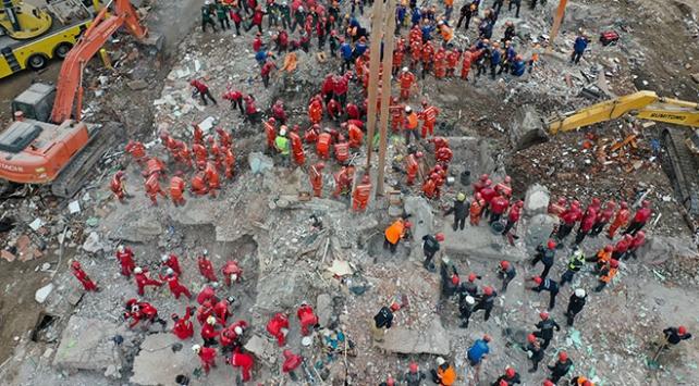 İzmirde arama kurtarma çalışmaları tamamlandı