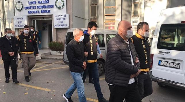 İzmirde deprem soruşturması: 9 şüpheli adliyeye sevk edildi