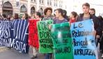 Romada Öğrenciler Sokağa Döküldü