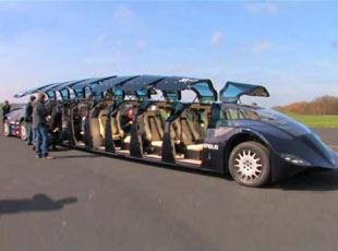 Hayranlık Uyandıran Süper Otobüs