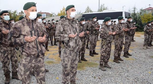 PÖHler dualarla Barış Pınarı Harekatı bölgesine uğurlandı