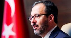 Bakan Kasapoğlu Tekvando Milli Takımı'nı tebrik etti