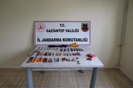 Gaziantepte hırsızlık şebekesine operasyon: 10 gözaltı