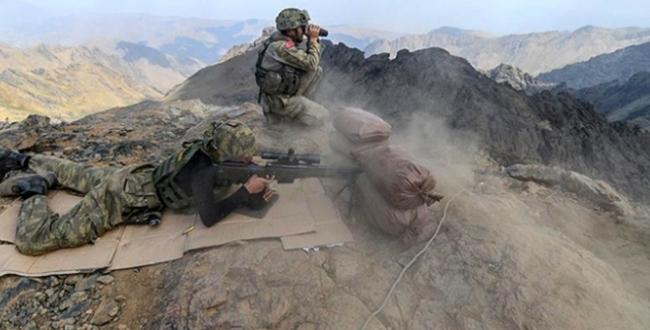 2 PKKlı terörist etkisiz hale getirildi