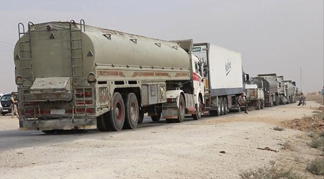 Terör örgütü PKK/YPG ile Esed rejimi arasındaki petrol ticareti sürüyor