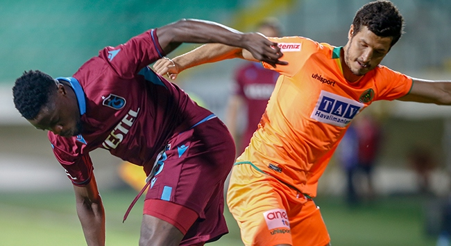 Trabzonspor ile Alanyaspor 9. kez karşılaşacak