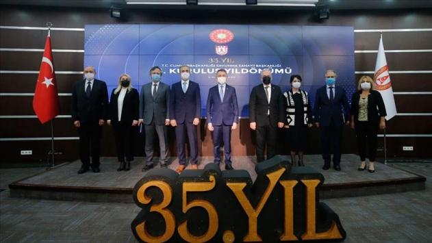 Erdoğan: Türkiye, terörle mücadele operasyonlarını rahatça yapabilmesini savunma sanayisindeki ilerlemeye borçlu