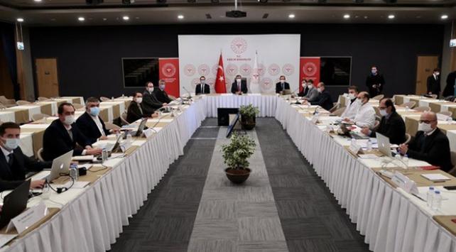İstanbulda salgınla mücadele toplantısı yapıldı