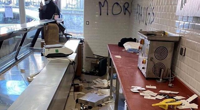 Fransada Türk dükkanına ırkçı saldırı