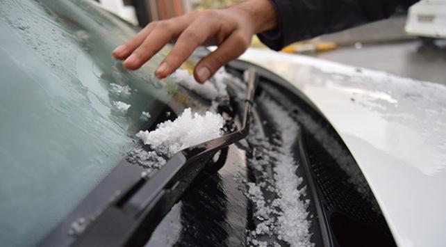 Ağrı ile Ardahanda sağanak ve karla karışık yağmur uyarısı
