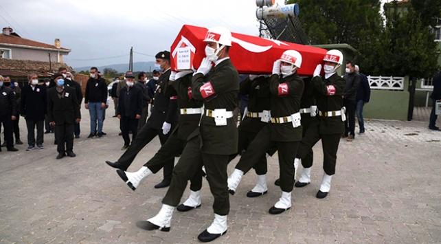 Kıbrıs Gazisi Edirnede son yolculuğuna uğurlandı