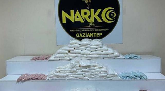Gaziantepte 50 kilogram metamfetamin ele geçirildi