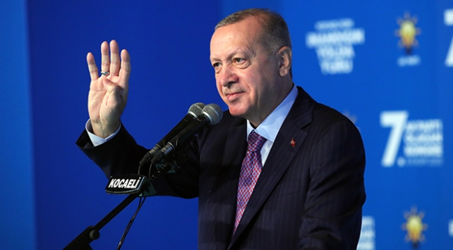 Cumhurbaşkanı Erdoğan: Azerbaycanlı kardeşlerimizin sevinci bizim de sevincimizdir