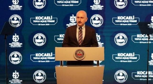 Bakan Karaismailoğlu: Kocaeli Şehir Hastanesine ulaşım akıcı rahat ve emniyetli olacak