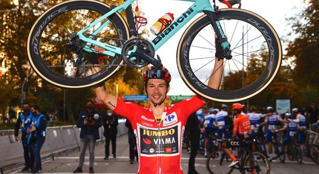 İspanya Bisiklet Turunu Roglic kazandı