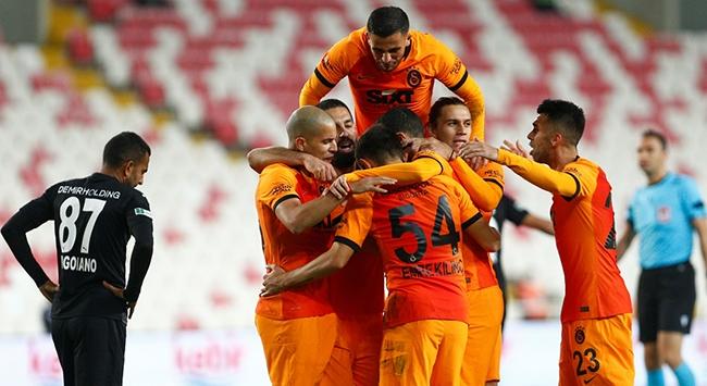 Galatasaray Sivastan galip döndü