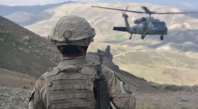 Tendürekte hava destekli operasyon: 2 terörist etkisiz hale getirildi