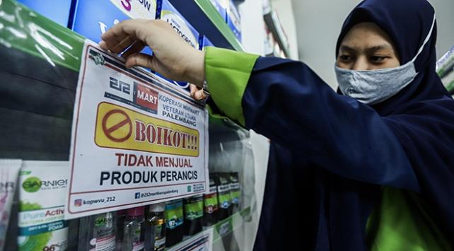 Endonezyada Fransız ürünlerine boykot