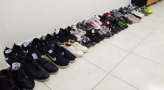 Manisada apartmandan 35 çift ayakkabı çalan zanlı tutuklandı
