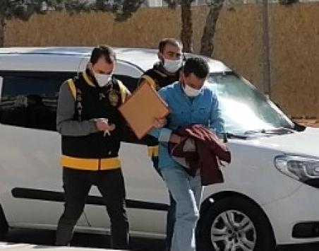 Aksarayda Afganistan uyruklu eski sevgilisini bıçakla yaralayan kişi tutuklandı