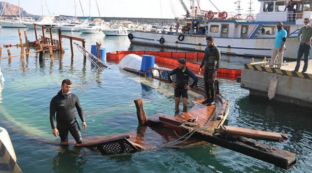 Antalyada batan tur teknesi sudan çıkarıldı