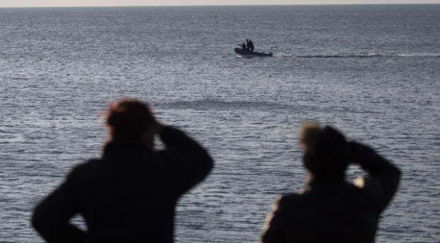 Saros Körfezinde kayıp 2 kişiyi arama çalışmaları sürüyor