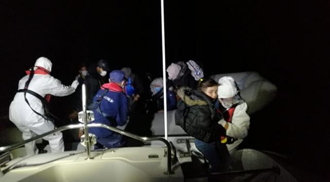 Sahil Güvenlik 62 sığınmacıyı kurtardı