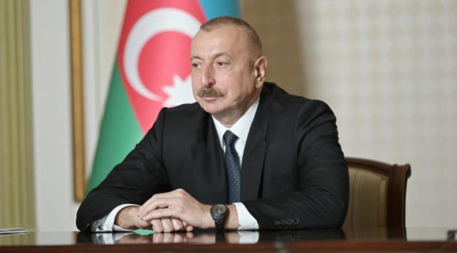 Aliyev, ABD başkanlığına seçilen Bidenı kutladı