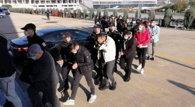 Sahte alışveriş sitesi dolandırıcılığı: 16 kişi tutuklandı