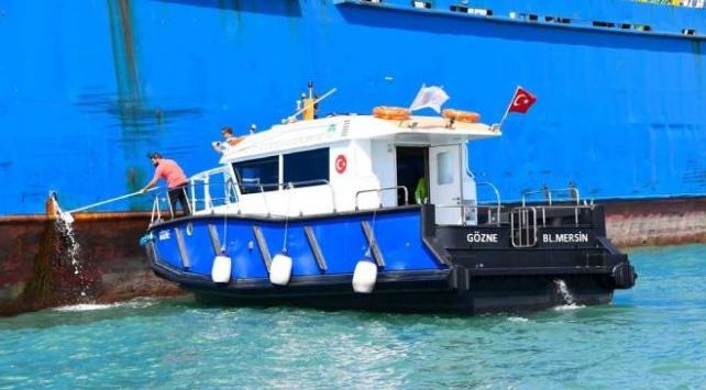 Mersinde denizi kirleten 23 gemiye 40 milyon lira ceza