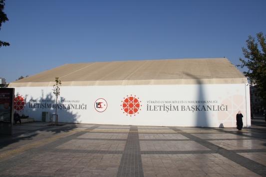 Atatürk, İletişim Başkanlığının Kayserideki Dijital Gösterim Merkezinde anıldı