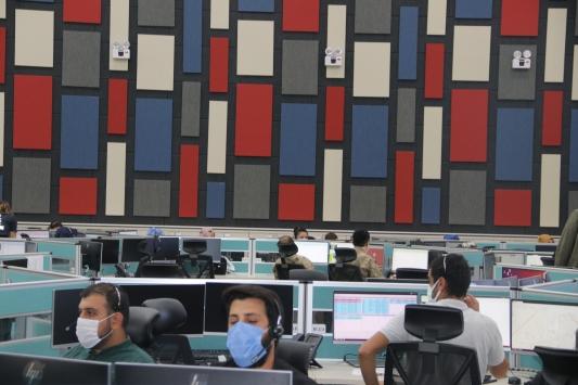 """Diyarbakırda """"112 Acil Çağrı Merkezi""""nden 3 dilde hizmet"""