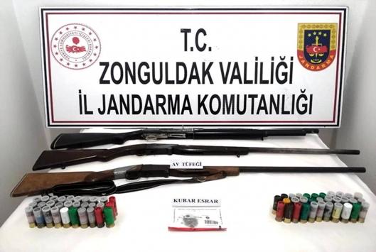 Zonguldakta uyuşturucu operasyonu