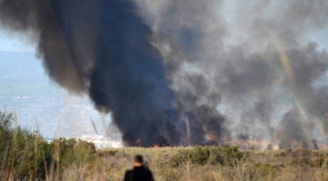 Göksu Deltasında çıkan yangın kontrol altına alındı