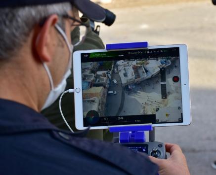 Gaziantepte uyuşturucu operasyonunda kaçan şüpheli drone yardımıyla yakalandı