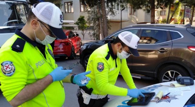 Denizlide karantinayı delen 249 kişiye para cezası